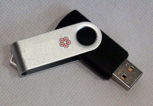 USB Flash Drive Intact