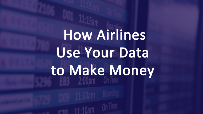 Airlines Use Big Data Make Money