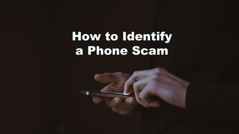 Identify Phone Scam Call