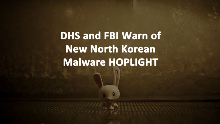 HOPLIGHT Malware North Korea