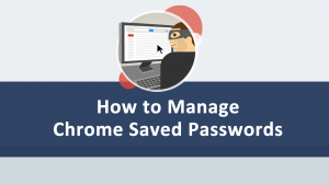 Manage Chrome Saved Passwords
