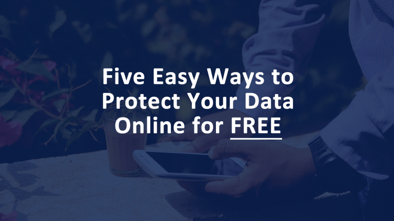 Protect Data Online for Free