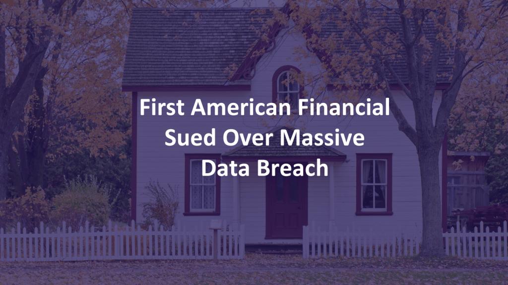 First American Data Breach