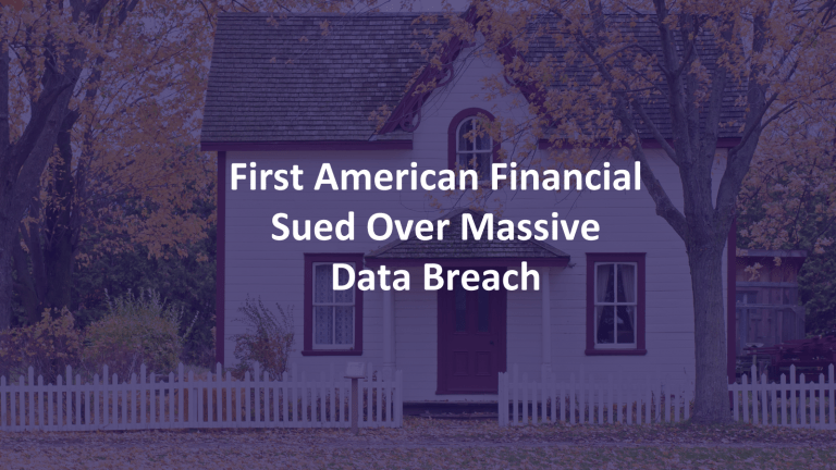First American Data Breach