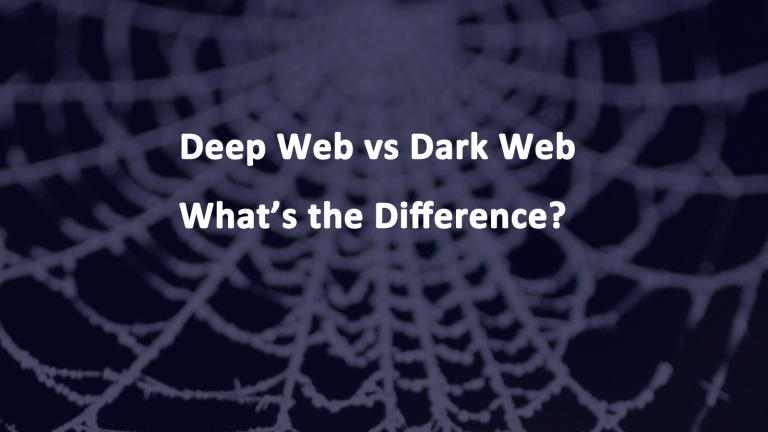Deep Web vs Dark Web Differences