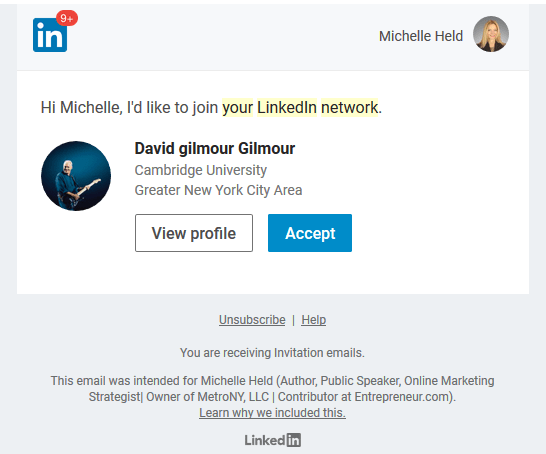 Hacker LInkedIn Connection Malware