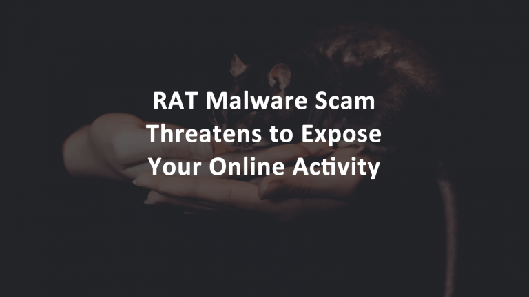 RAT Malware Scam Email