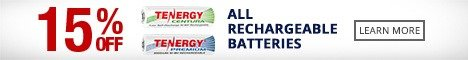 Tenergy Batteries