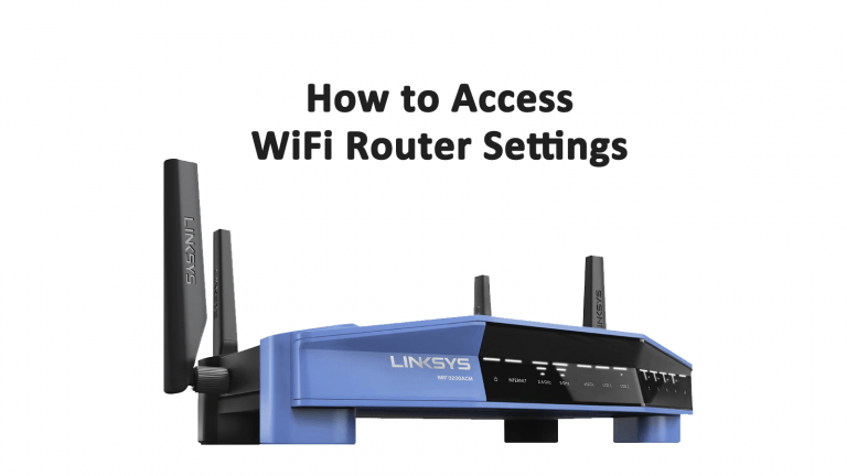 Access Router Settings