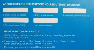 LINKSYS Set Up Doc
