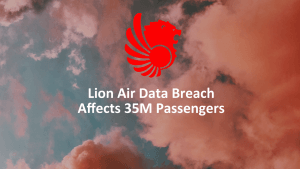 Lion Air Breach
