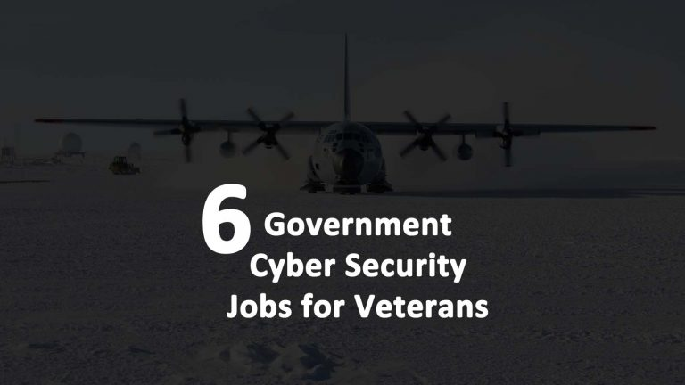Government Cyber Security Jobs Veterans