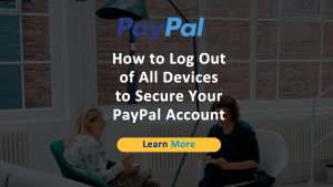 PayPal Log Out All Devices