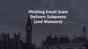 Phishing Email Malware Subponea