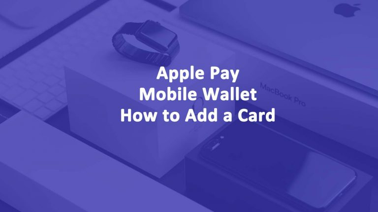 Apple Pay Wallet Add Card