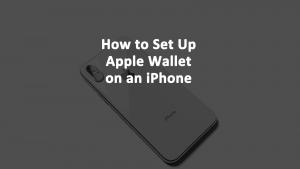 Apple Wallet iPhone