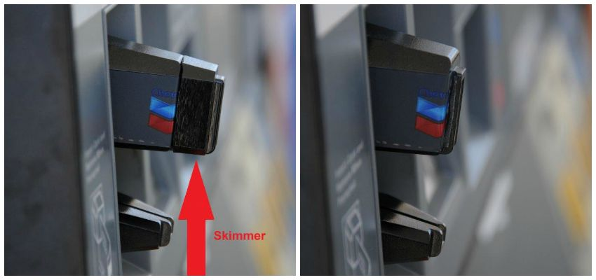Gas Station Card Skimmer
