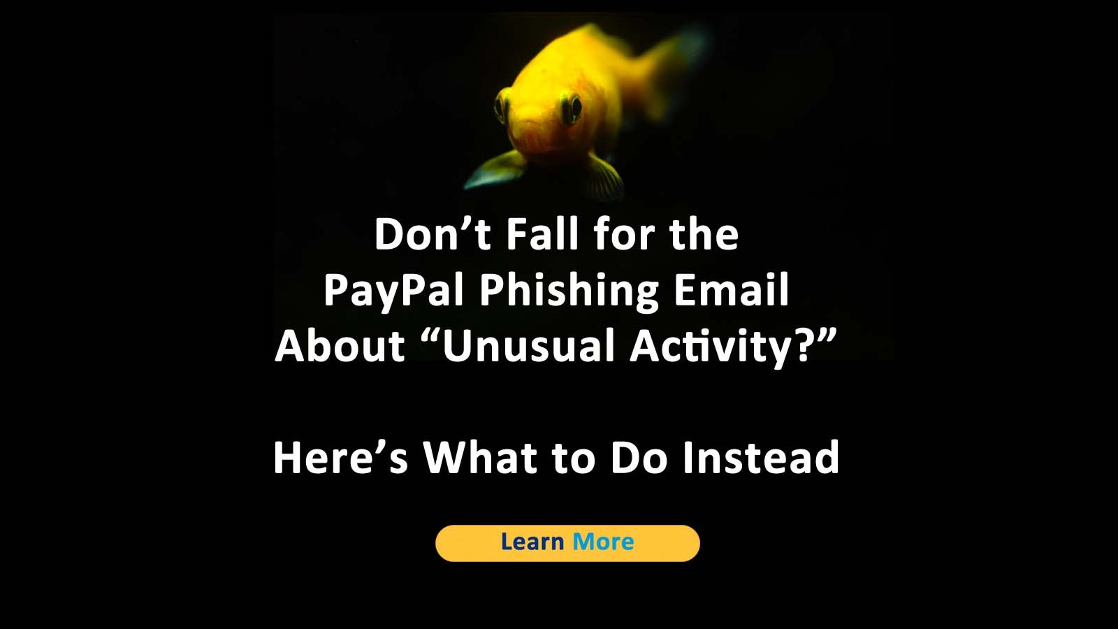 PayPal Phishing Email Unusual Activity