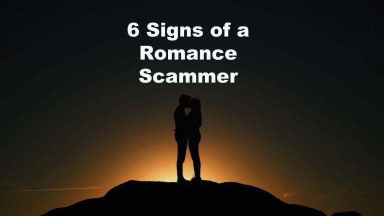 Signs Romance Scammer