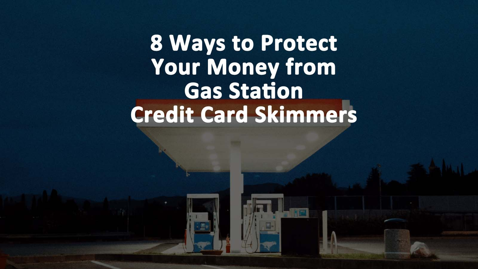 Gas Station Credit Card Skimmers
