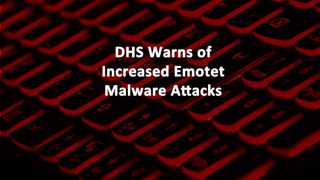 CISA Warning Emotet Malware