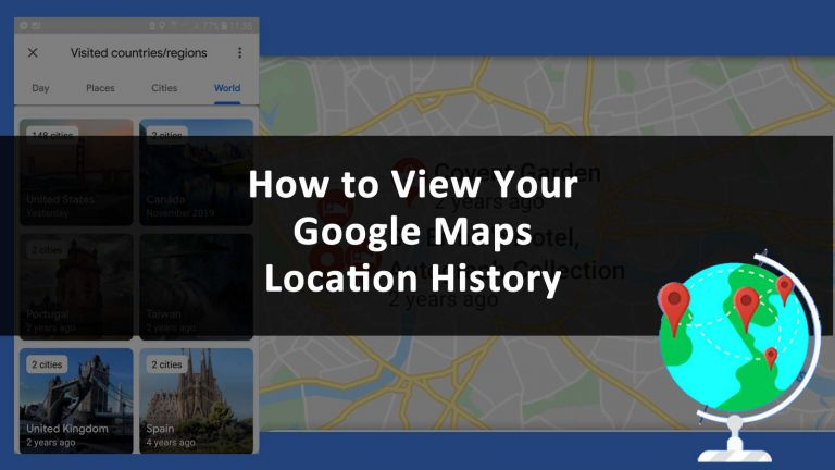 Google Maps Location History