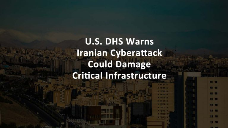 Iranian Cyberattack Critical Infrastructure