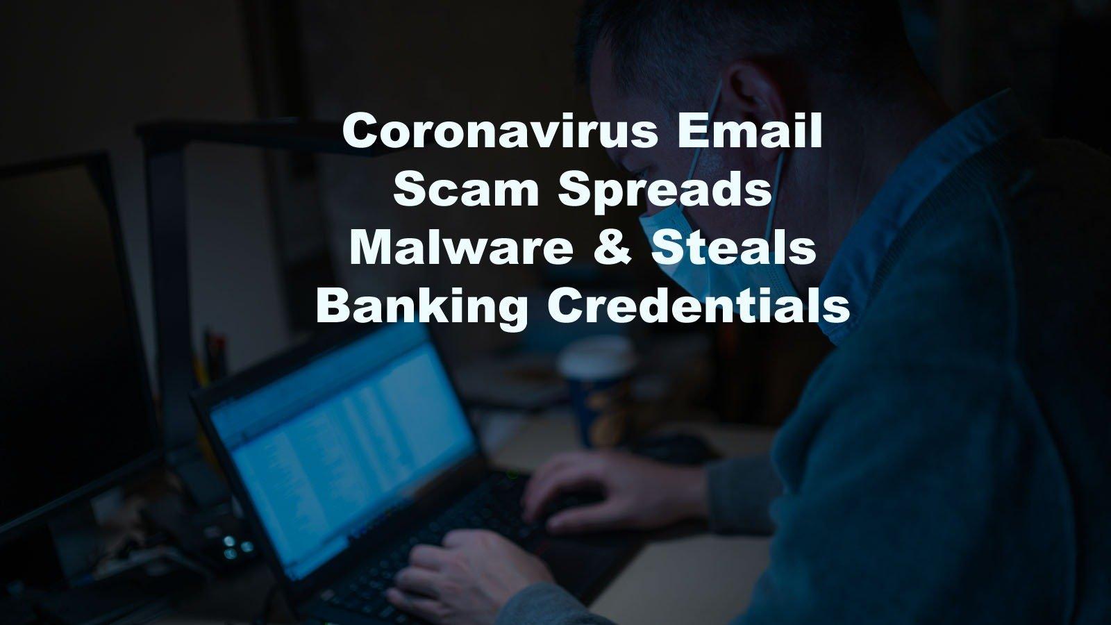 Coronavirus email scam