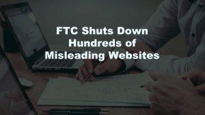 FTC Shuts Down Websites