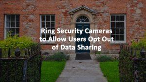 Ring Doorbell Data Sharing