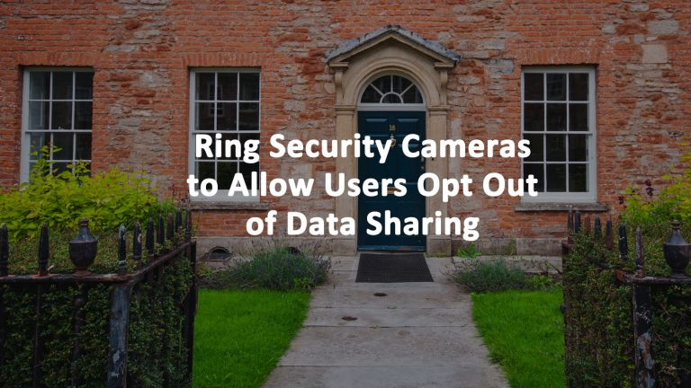 Ring Doorbell Data Sharing