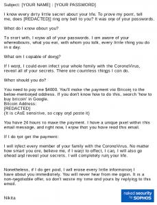 Prn Scam email