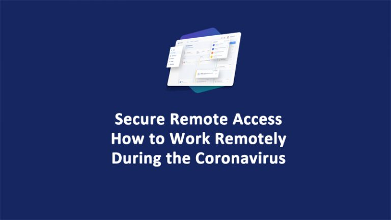 Secure Remote-Access-Work-Remotely