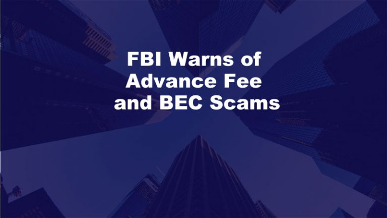 BEC Scam Advance Fee