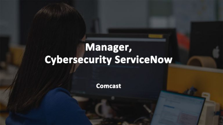 Cybersecurity ServiceNow