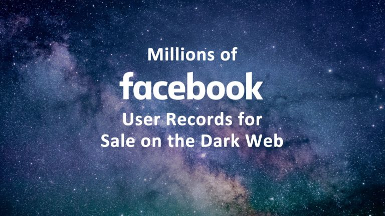 Facebook Dark Web