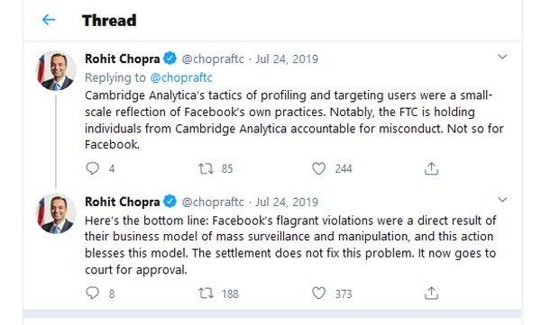 Twitter Rohit Chopra