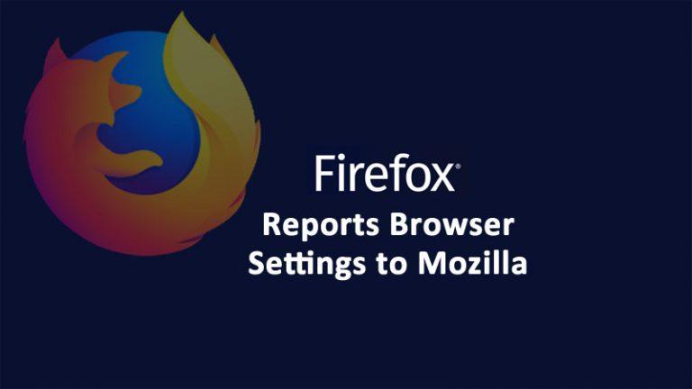 Firefox 75 Telemetry