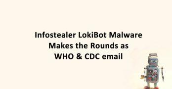 LokiBot Malware WHO