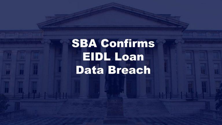 SBA EIDL Data Breach