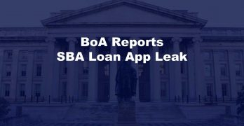 BoA SBA Loan App Leak