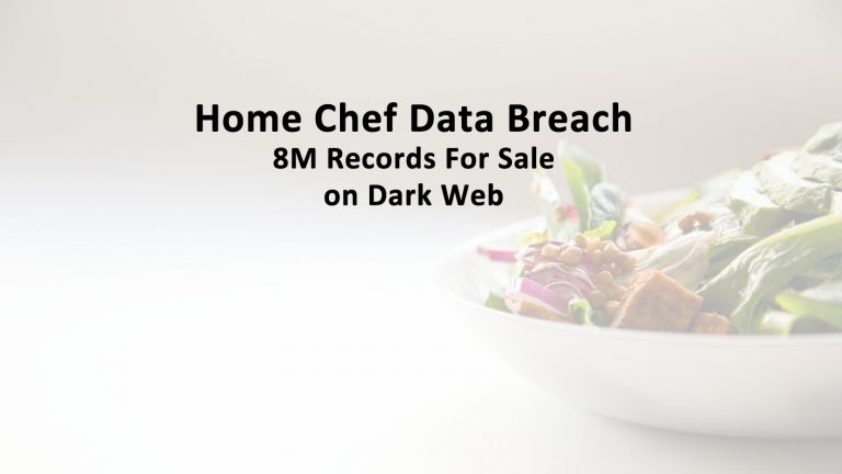 Home Chef Data Breach