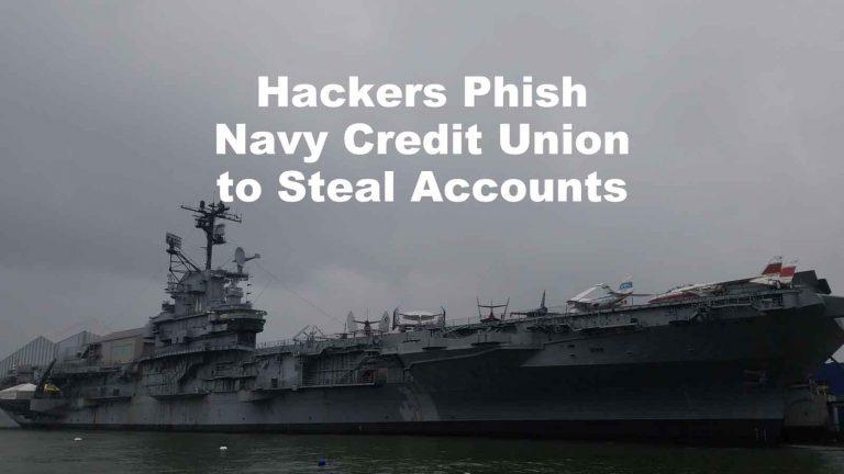 Navy Credit Union Phishing