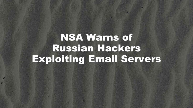 Russian Hackers Exim Email