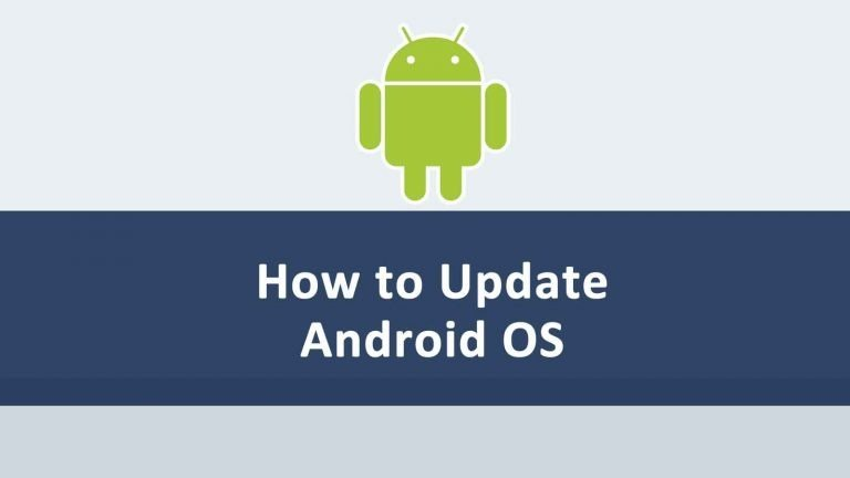 Update Android Operating System