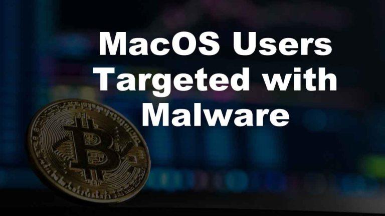 MacOS Users Malware