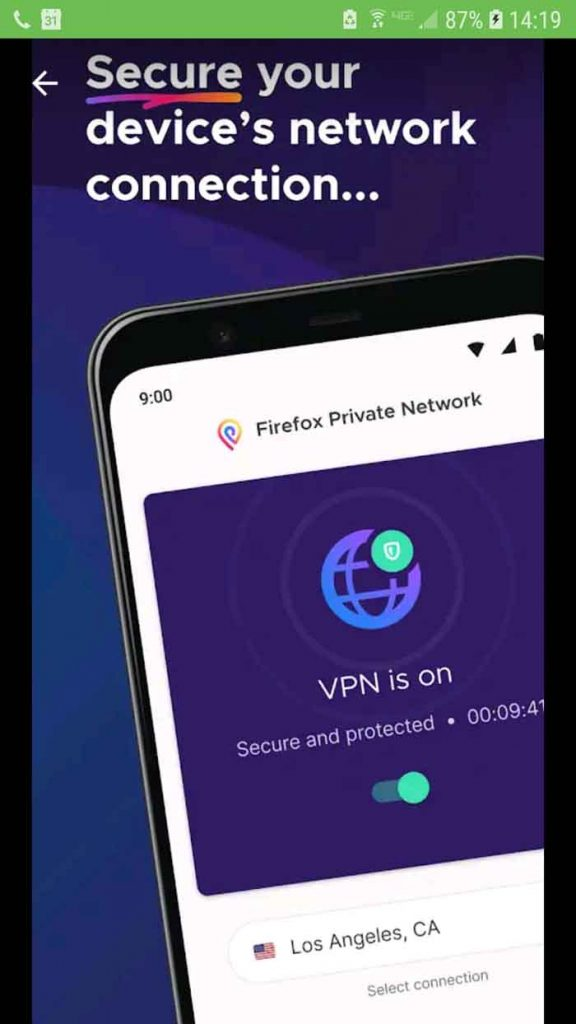Mozilla VPN Working