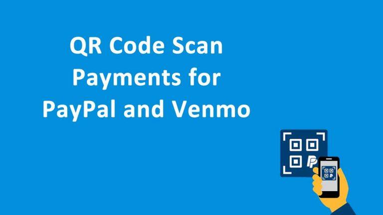 QR Code Scan PayPal