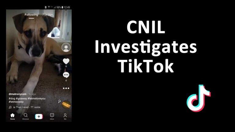 CNIL TikTok Investigation