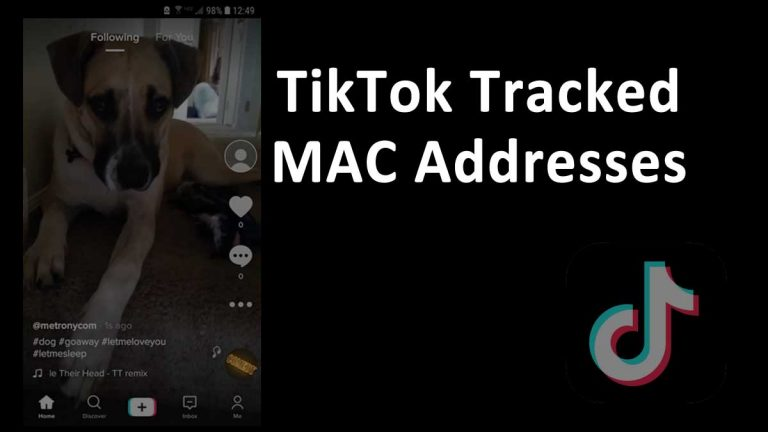 TikTok MAC Address